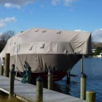 Fitted winter cover