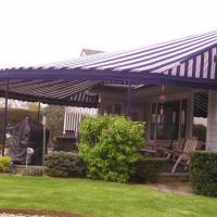 Rounded Patio Awning
